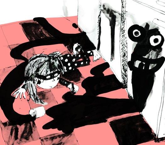 masked scribbler